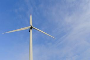 風力発電用風車の写真素材 [FYI00376627]