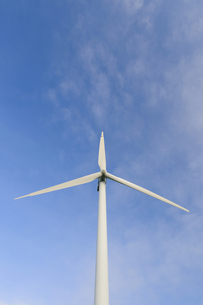風力発電用風車の写真素材 [FYI00376648]