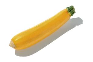 おもしろ野菜・イエローズッキーニの写真素材 [FYI00377095]
