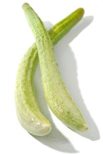 おもしろ野菜・毛馬胡瓜の写真素材 [FYI00377117]