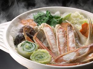 冬のごちそうカニ鍋の写真素材 [FYI00377127]