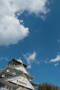 天守閣と青い空の素材 [FYI00377171]