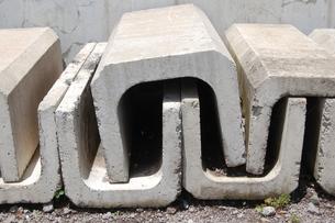 U字のブロックの写真素材 [FYI00377284]