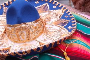 南米の帽子の写真素材 [FYI00377312]