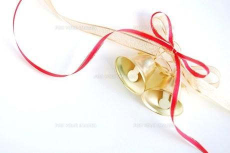 クリスマスベルの写真素材 [FYI00377342]