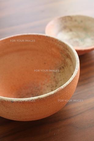 陶器(腕、小鉢)の写真素材 [FYI00377469]