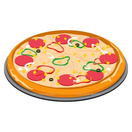ピザの写真素材 [FYI00377515]