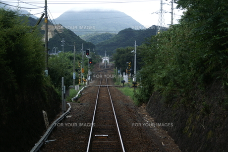 ローカル線の素材 [FYI00377572]