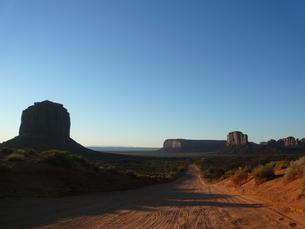 モニュメント・バレー (Monument Valley)の写真素材 [FYI00377780]