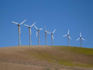 風力発電 風車の写真素材 [FYI00377785]