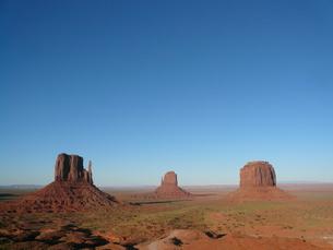 モニュメント・バレー (Monument Valley)の写真素材 [FYI00377787]