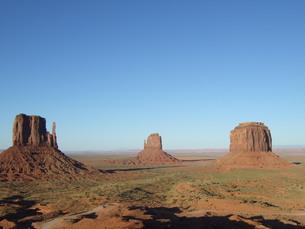 モニュメント・バレー (Monument Valley)の写真素材 [FYI00377791]