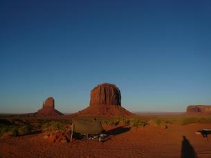 モニュメント・バレー (Monument Valley)の写真素材 [FYI00377807]