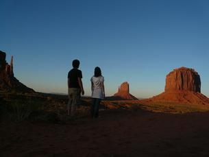 モニュメント・バレー (Monument Valley)の写真素材 [FYI00377808]