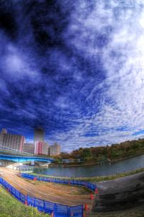 河川敷の写真素材 [FYI00378143]