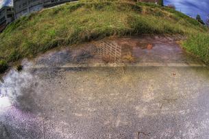水たまりの写真素材 [FYI00378148]