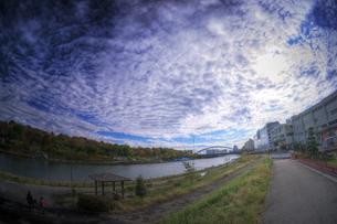 河川敷の写真素材 [FYI00378154]