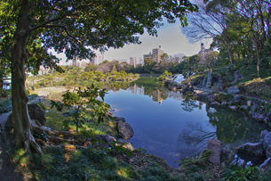 清澄庭園の写真素材 [FYI00378162]