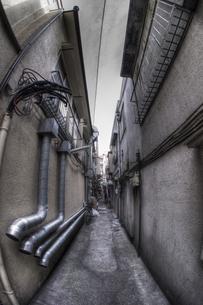 路地裏の写真素材 [FYI00378164]