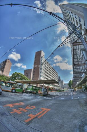 都バス車庫の写真素材 [FYI00378193]