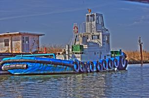 漁船の写真素材 [FYI00378232]