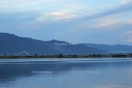 木曽川と立田大橋の素材 [FYI00378349]