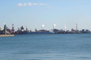 工業地帯 名古屋港の素材 [FYI00378451]