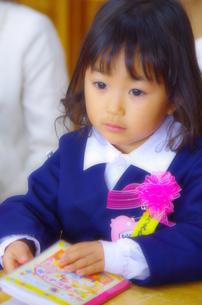 入園式の女の子の写真素材 [FYI00378672]