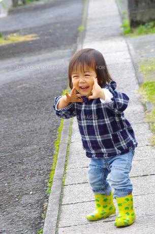 えがおの男の子の写真素材 [FYI00378682]