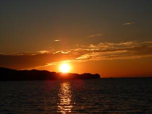 夕日の写真素材 [FYI00378819]
