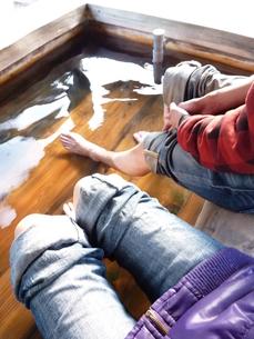 足湯の写真素材 [FYI00378829]