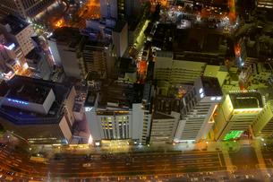 西梅田の夜景の写真素材 [FYI00378911]