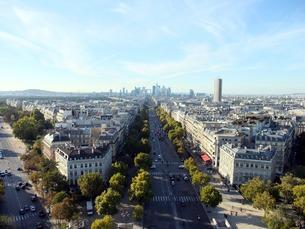 凱旋門からの風景の写真素材 [FYI00378962]