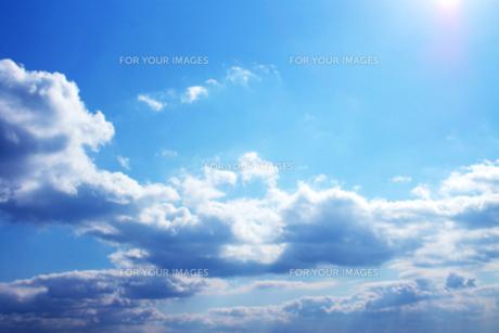 青い空_002の写真素材 [FYI00379129]