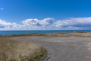 地と空と水平線の写真素材 [FYI00379317]