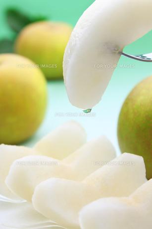 梨 なし ナシ(幸水)の写真素材 [FYI00379334]