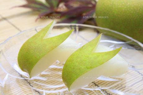 梨 なし ナシ(幸水)の写真素材 [FYI00379347]