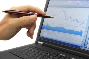 株セミナー テクニカル分析について教えるの写真素材 [FYI00379369]