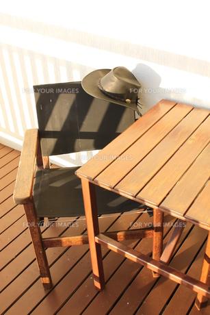 帽子と椅子の素材 [FYI00379415]