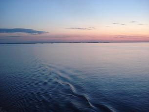 バルト海の朝焼けの写真素材 [FYI00379479]