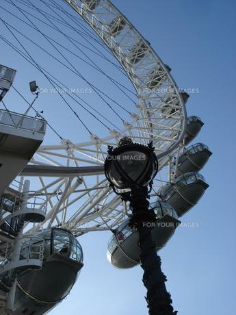 イギリス・ロンドンアイの写真素材 [FYI00379481]