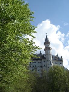 ドイツ・ノイシュバンシュタイン城の写真素材 [FYI00379494]