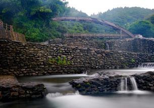 橋と水路の写真素材 [FYI00379497]