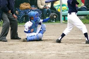 野球キャッチャーの素材 [FYI00381182]