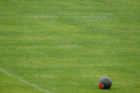 サッカーボールの素材 [FYI00381198]