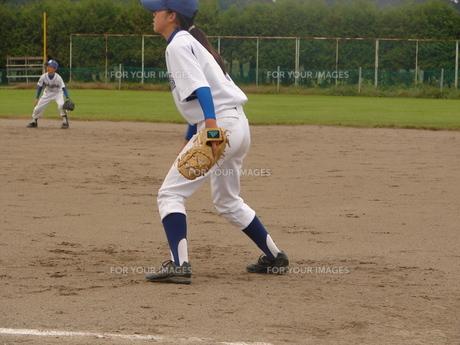 野球少女の素材 [FYI00381212]