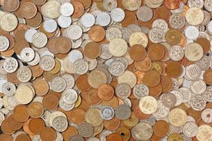 日本の硬貨の写真素材 [FYI00381241]