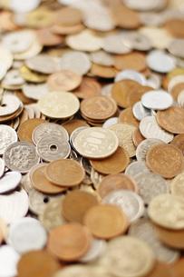 日本の硬貨の写真素材 [FYI00381251]