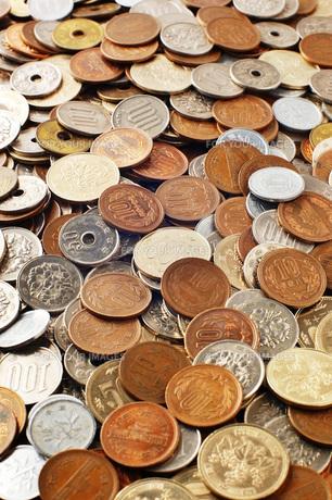 日本の硬貨の素材 [FYI00381257]