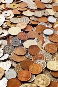 日本の硬貨の写真素材 [FYI00381257]